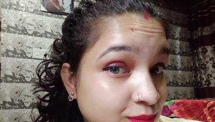 My daily makeup look???