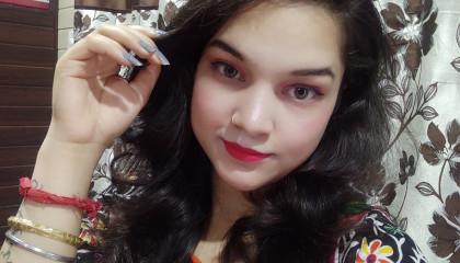 simple  makeup look/simple party look