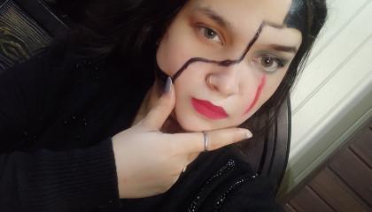 FabymakeupArtist inspired mask makeup look