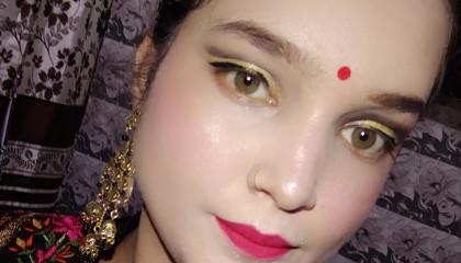 Raksha bandan makeup look//Anshi
