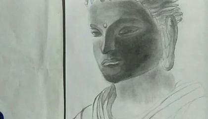 Budhha drawing