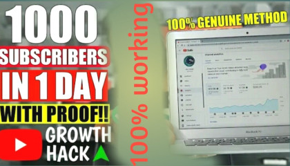 How to get fast 1000 subscribe on youtube channel ? part 2, Pehla 1k subscribers kaise laye youtube channel me