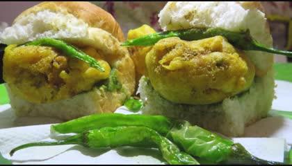 Mumbai vada pav recipe at home