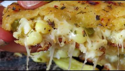 5 Minutes Main Stuffed Garlic Bread Recipe-गार्लिक ब्रेड बनाने का आसान तरीका -VeryEasy Garlic Bread