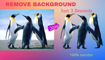 REMOVE THE BACKGROUND YOUR IMAGE...Very easy