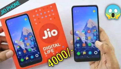 Jio New phone just 4000 only | Jio New phone only 4000 rupees.
