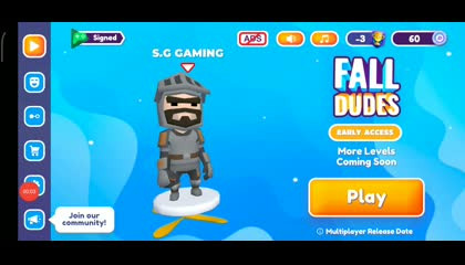 ???fall dudes 3d with S.G Gaming