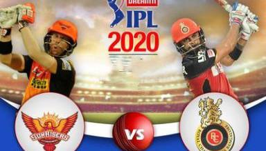 Dream11 IPL 2020 RCB vs SRH Match Highlights, Royal Challengers Bangalore vs Sunrisers Hyderabad Highlights