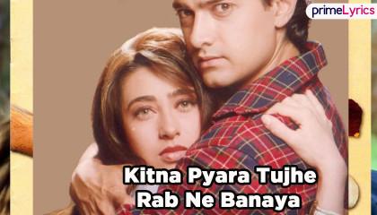 Kitna Pyaara Tujhe  Aamir Khan & Karisma  Alka Yagnik & Udit Narayan  Raja Hi