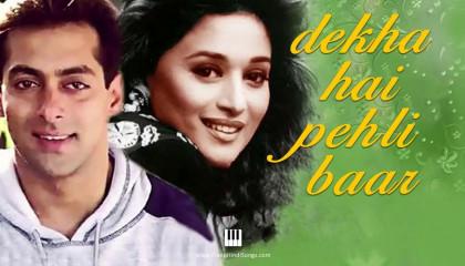 Dekha Hai Pehli Baar - Saajan (1991)  Salman Khan, Madhuri Dixit  Full 4K 60f
