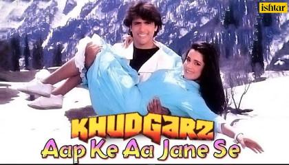 Aap Ke Aa Jane Se  Khudgarz  Govinda & Neelam  Mohammed Aziz, Sadhna Sargam