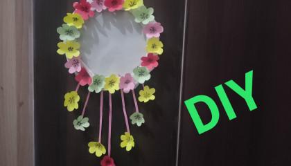 Hanging flower photoframe #DIY #BN Creative
