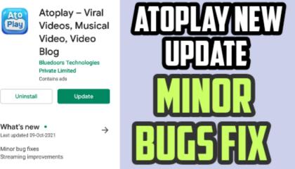 atoplay new update_atoplay minor bugs fix_atoplay app update