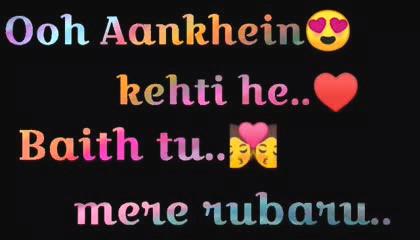 Hindi letter design status video