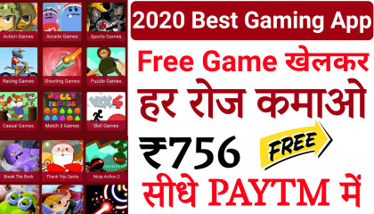 2020 New Gaming Earning App - Earn Free Paytm Cash Without Investment - Spidey Games App Payment proof