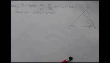Class 10 Maths ch-6, Ex.6.3, Question 4 Solved ...Must Watch