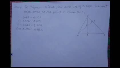 Class 10 Maths ch-6, Ex 6.3, Question-7  Solved...Full Explanation