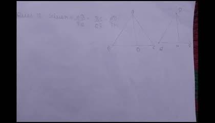 Class 10 Maths ch-6 Ex 6.3 Question 12 Solved...Must Watch