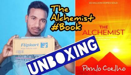 The Alchemist Book Unboxing & review Hindi😊 purchase on Flipkart !! Vikash Gautam!! Youth Mind 3