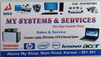 MY SYSTEMS AND SERVICES