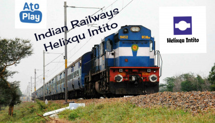Babina Jhansi Indian Railways Track