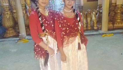 Bharat ye rehna chahiye #trending 1 dance cover by saipriya and swasti