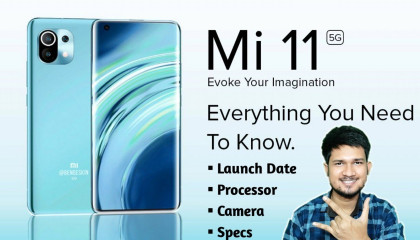 Xiaomi Mi 11 - Launch Date ,Processor ,Camera ,Display ,RAM ,Battery & Specs | Mi 11 | Techy Aayush