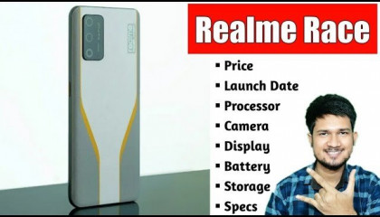 Realme Race - Price ,Launch Date ,Processor ,Camera ,Display ,Battery ,Storage & Specs