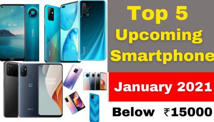 Upcoming Smartphones  Upcoming Smartphones 2021 Top 5 Upcoming Smartphone In January 2021