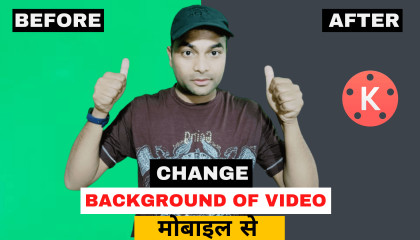 How Change Video Background in Kinemaster  Video Ka Background kaise change kare  Remove