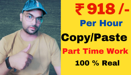 Earn Money Online  Copy Paste Online Work  Online Job For Student  Work From Home  Part Time
