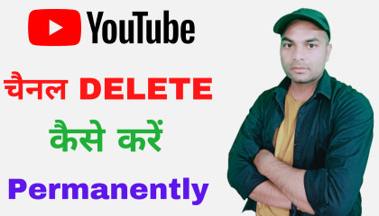 how to delete YouTube channel youtube channel delete kaise kare delete youtube channel permanently