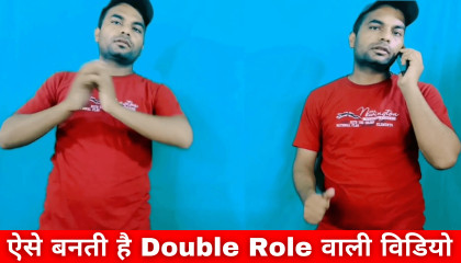 Double role video editing Double role video kaise banaye  double role video tutorial in kinemaster