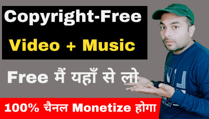 Copyright free videos background music kaise download kare   Royalty free vide