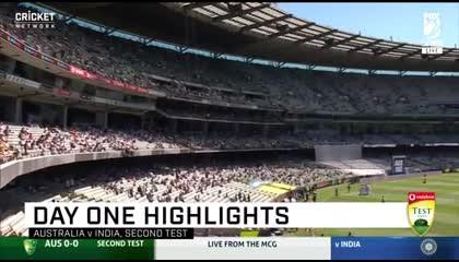 India vs Australia highlights