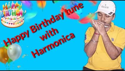 Happy birthday tune/ harmonica