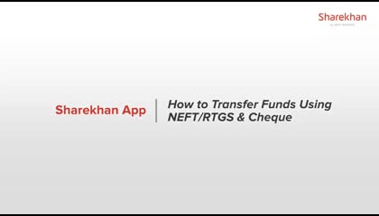 HOW TO TRANSFER FUND TO SHAREKHAN ACCOUNT