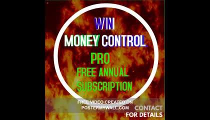 FREE MONEY CONTROL PRO ANNUAL SUBSCRIPTION