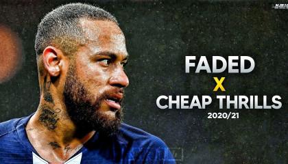 Neymar Jr ► Faded X Cheap Thirills 2021|HD|