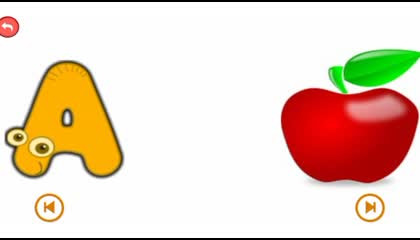 A For Apple, A to Z Words