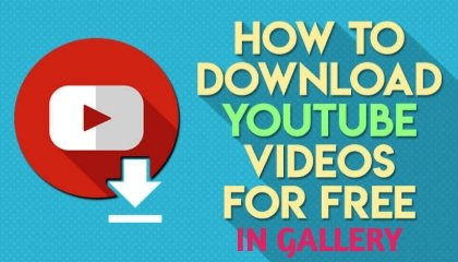 How To Download YouTube Videos & Movies In Gallery !! TRICKER ANAND !!