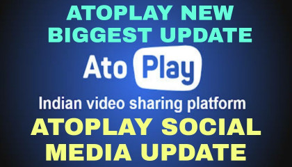 Atoplay App New Biggest Update !! Social Media Update !! TRICKER ANAND !!