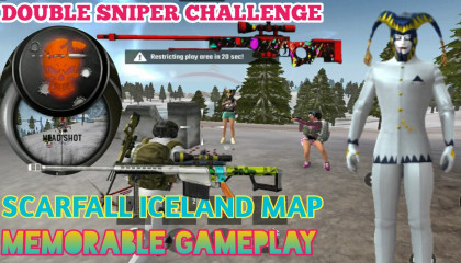 Tribute To Scarfall Game !! Old Memories Of Iceland Map !! GAMER ANAND !!