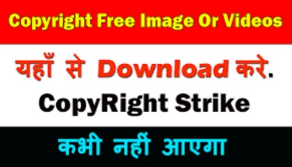 How To Download Copyright Free Videos And Images !! New Trick !! TRICKER ANAND