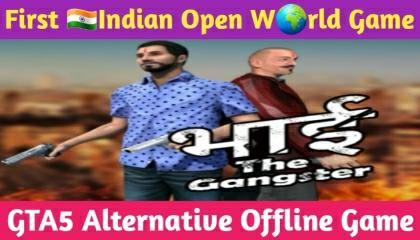 First Indian Open World Game !! GTA5 Alternative Offline Game !! GAMER ANAND !!