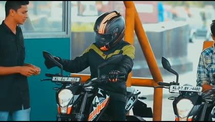 Girl Bike Attitude WhatsApp Status  KTM Bike Riding WhatsApp Status