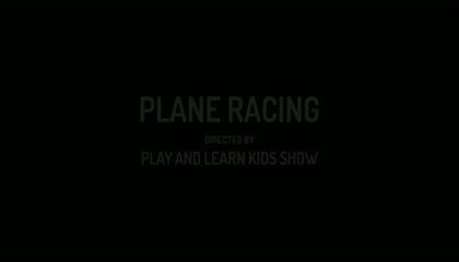 SHORT ANIMATION STORY FOR KIDS: PLANE RACING