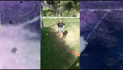 BABY SWING VIDEO BABY JHULA IN PARK VIDEO