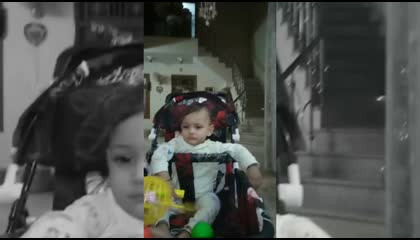 BABY PLAYING AND DANCING WITH TOYS