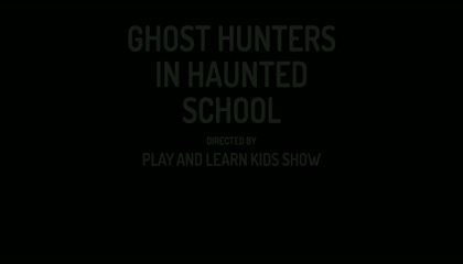 SHORT ANIMATION STORY FOR KIDS : GHOST HUNTERS IN HAUNTED SCHOOL